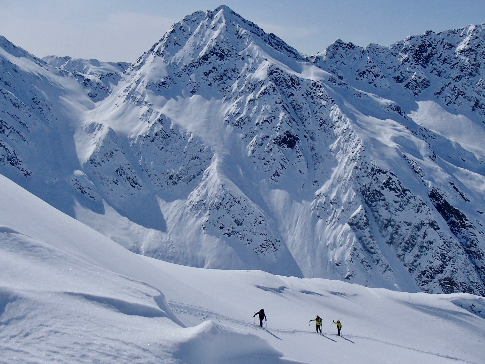 Ski touring at Grossglockner
