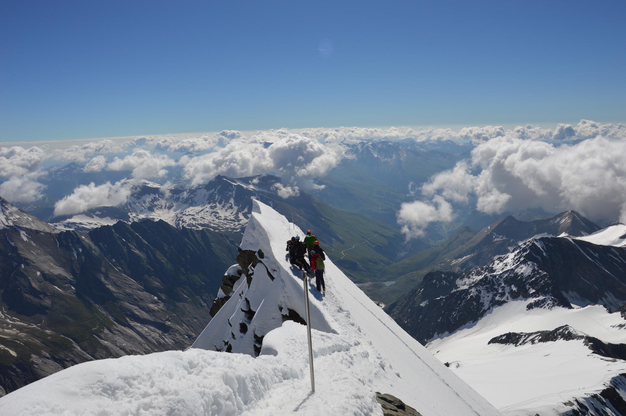 Summit of Grossglockner