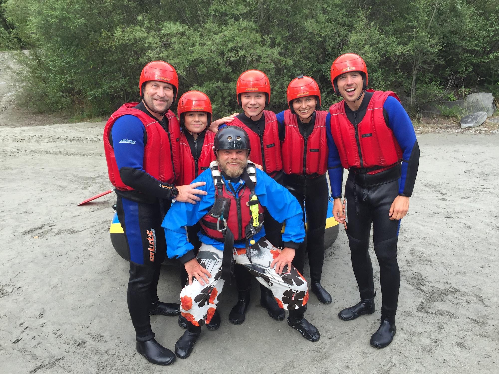 Rafting in East Tyrol