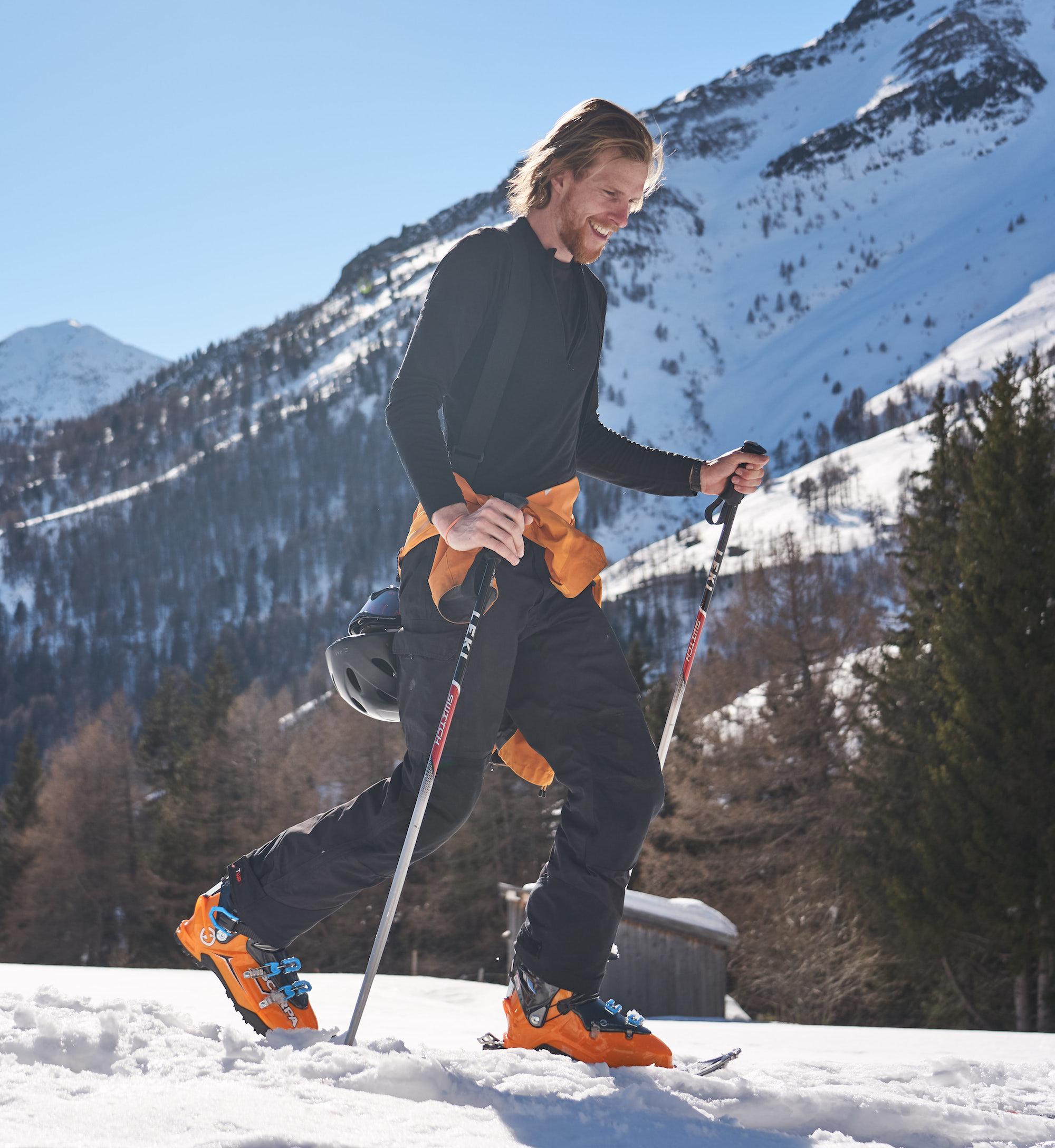 Ryan ski touring