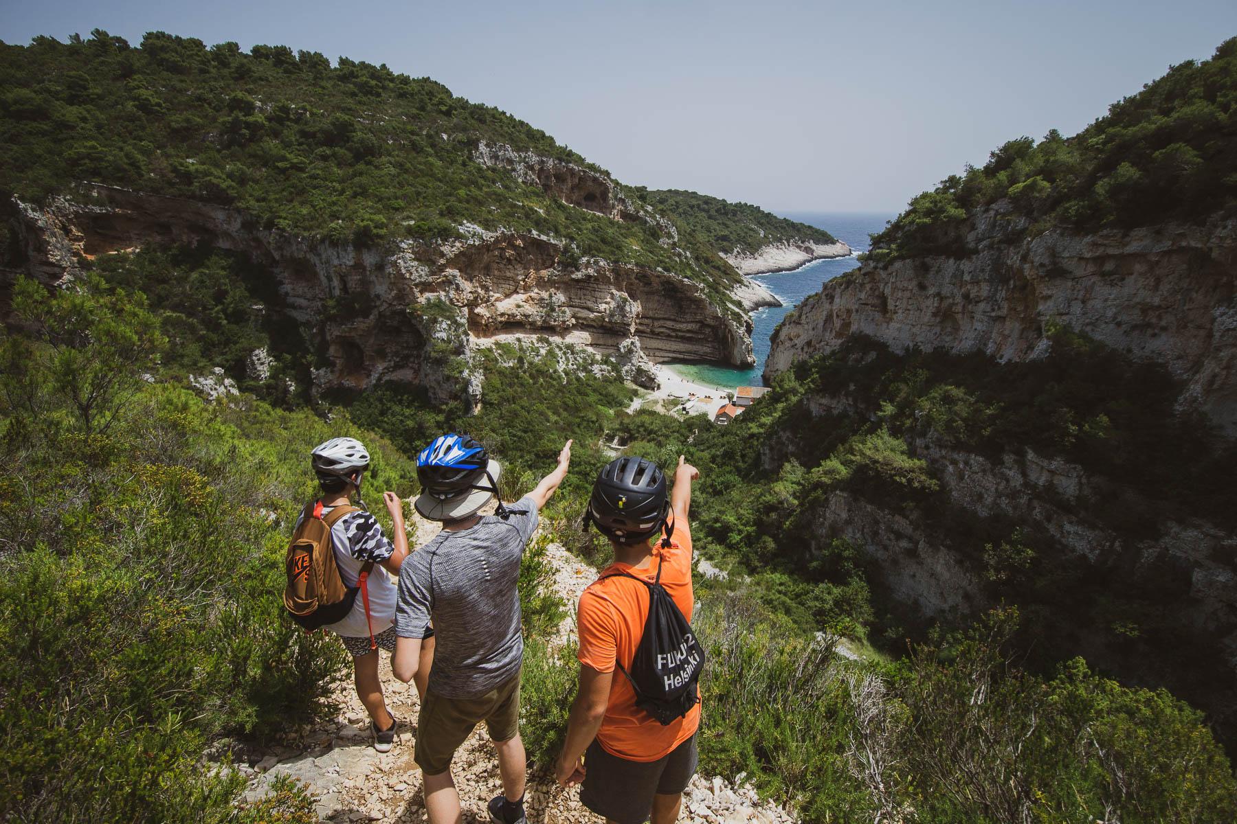 Croatian school activity trip