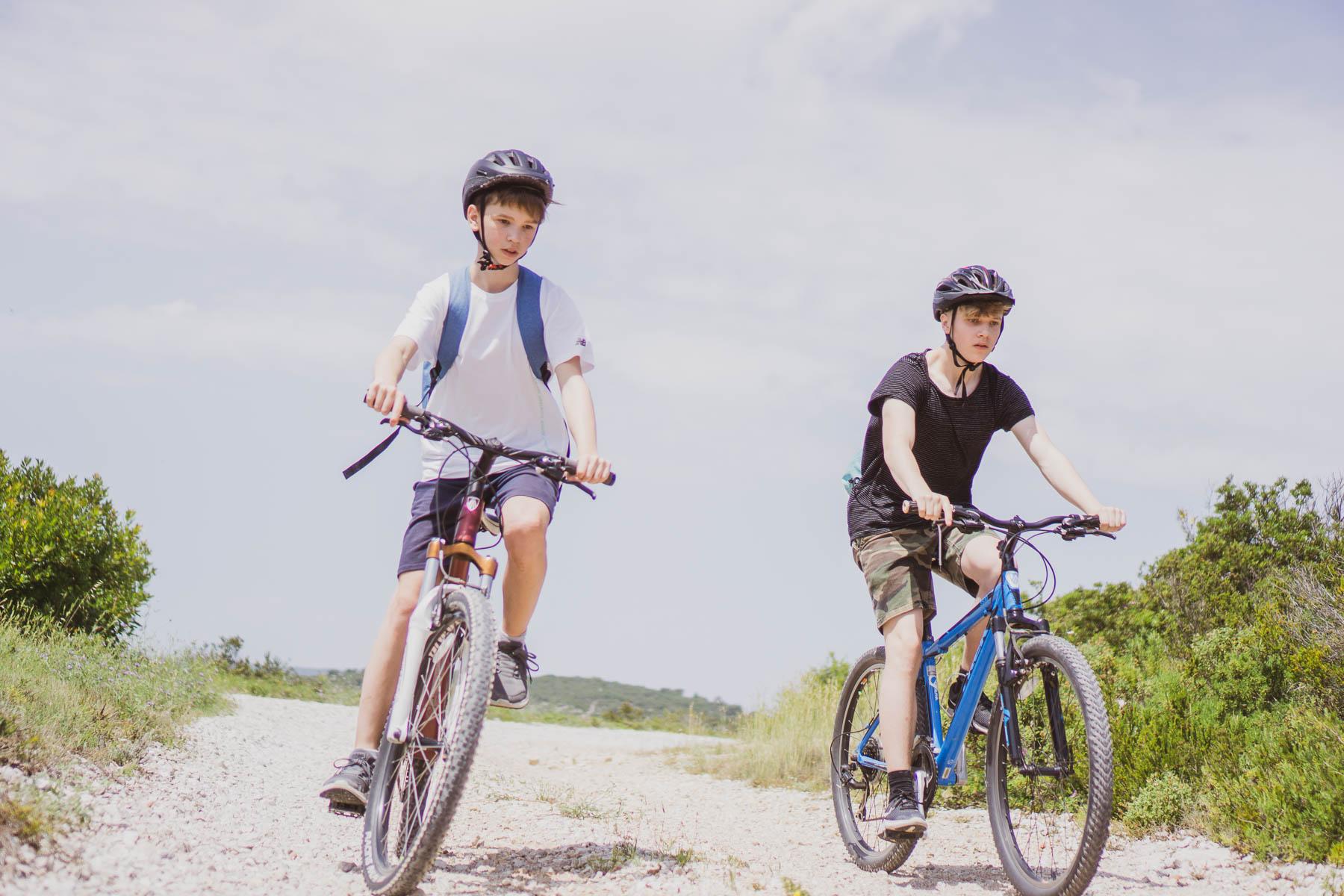 Off road biking in Vis island