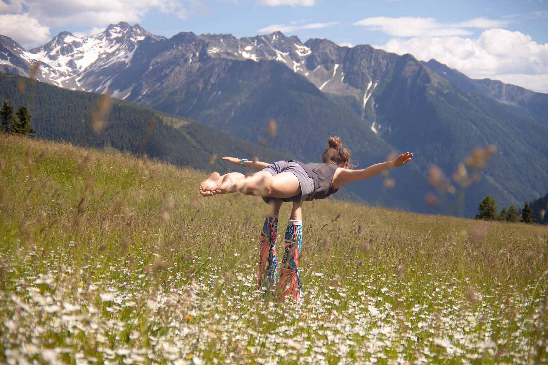Acro yoga holiday in Austria