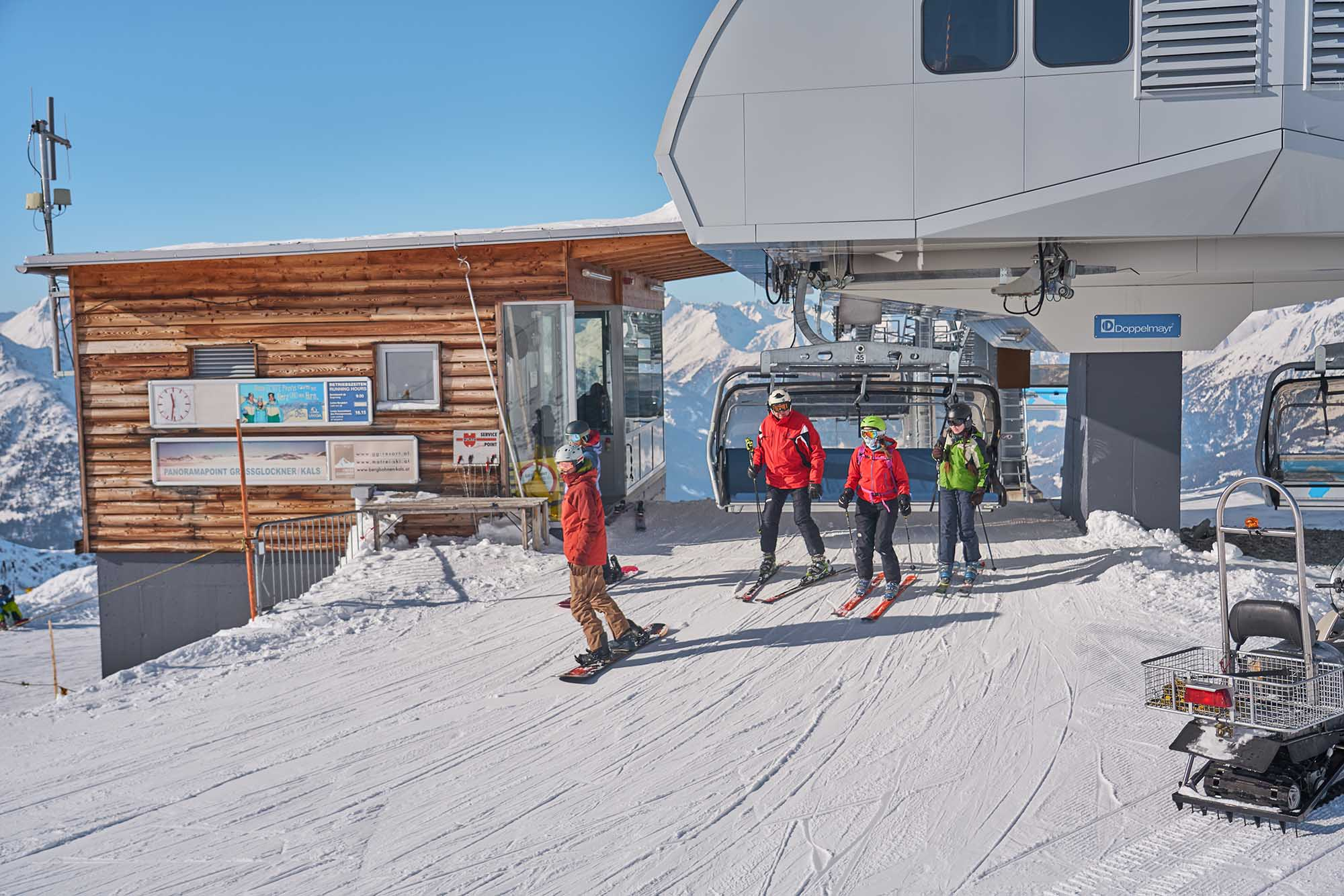 Skiing and snowboarding in East Tyrol