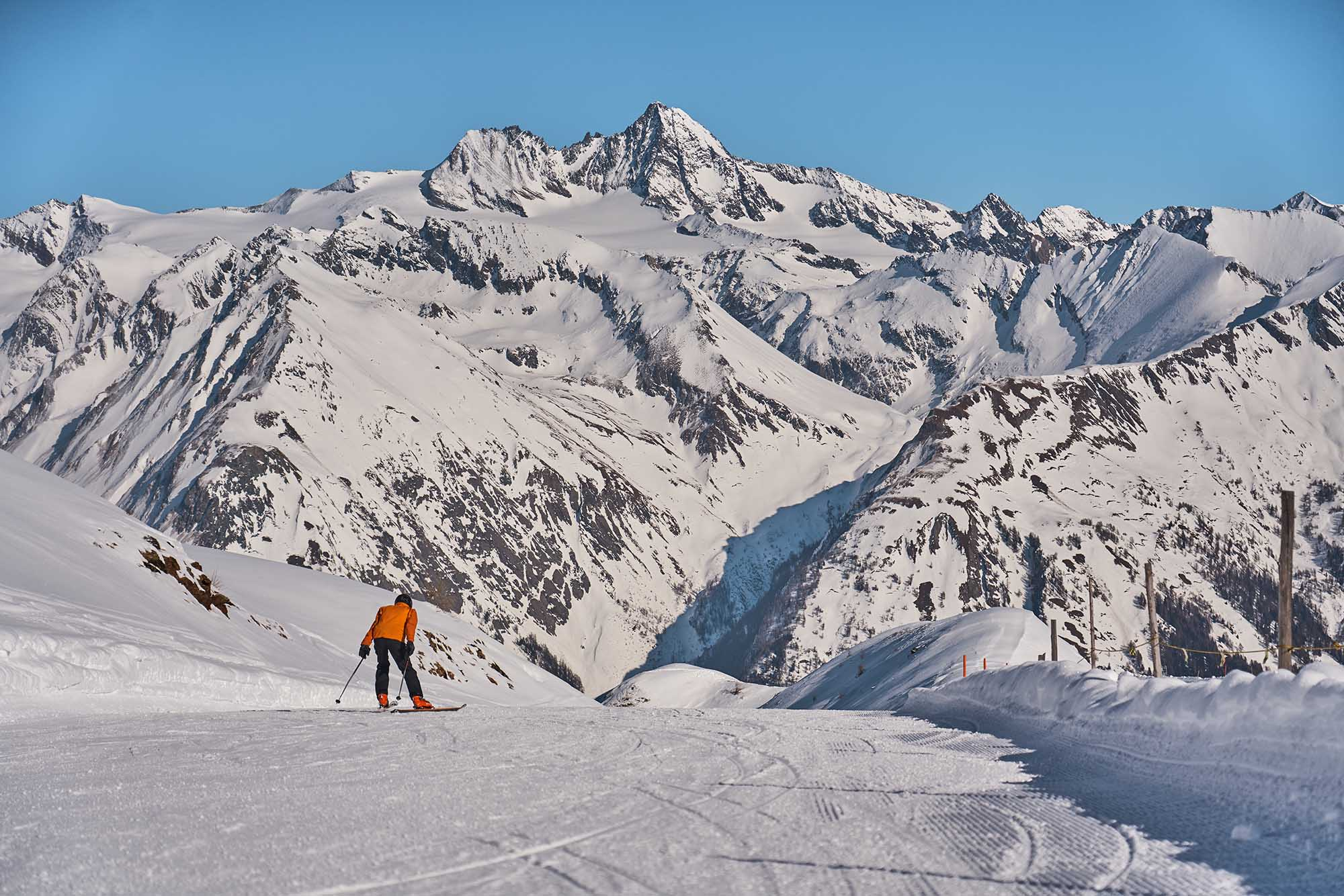 Downhill skiing in East Tyrol