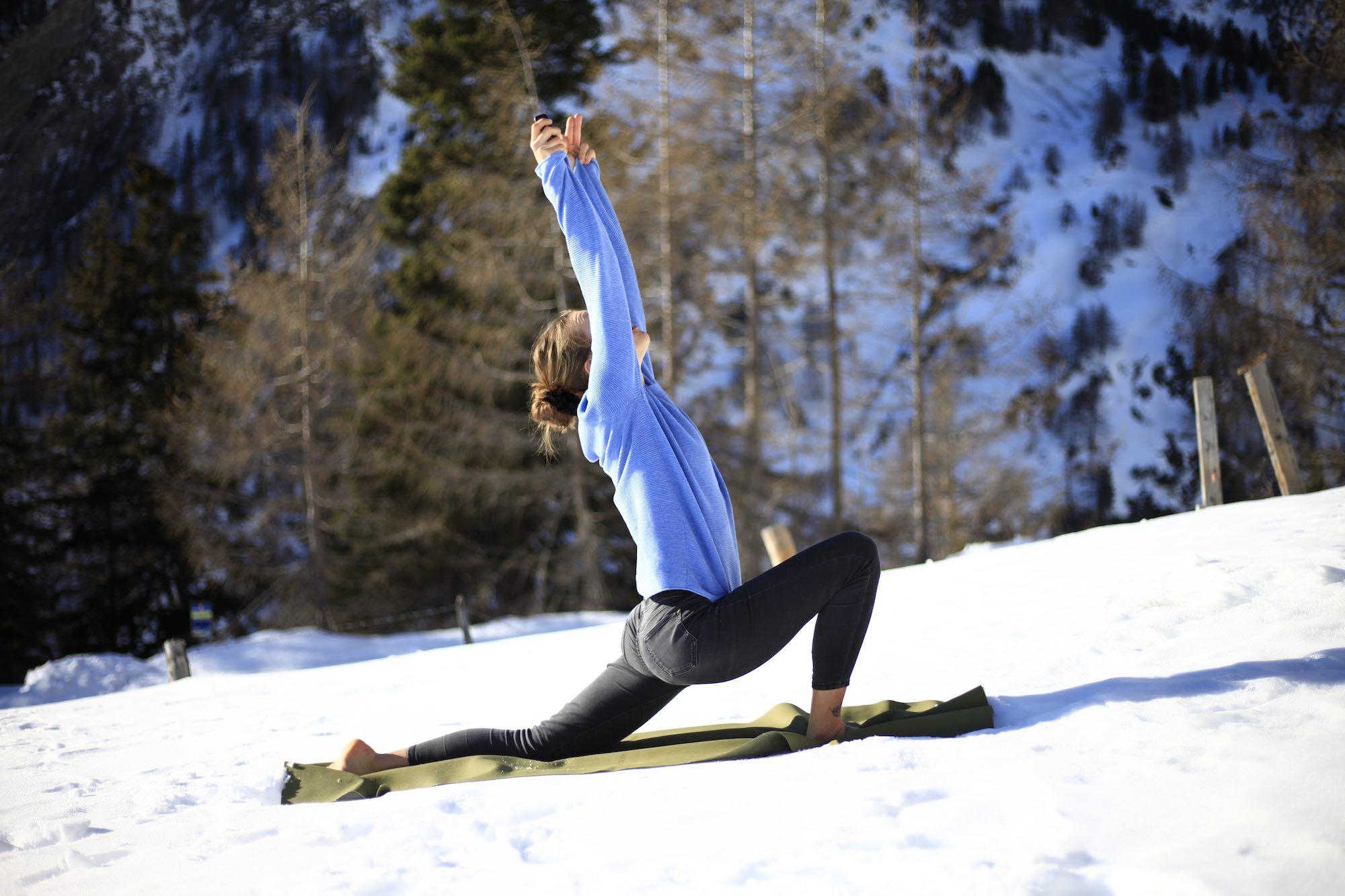 Mountain yoga retreat