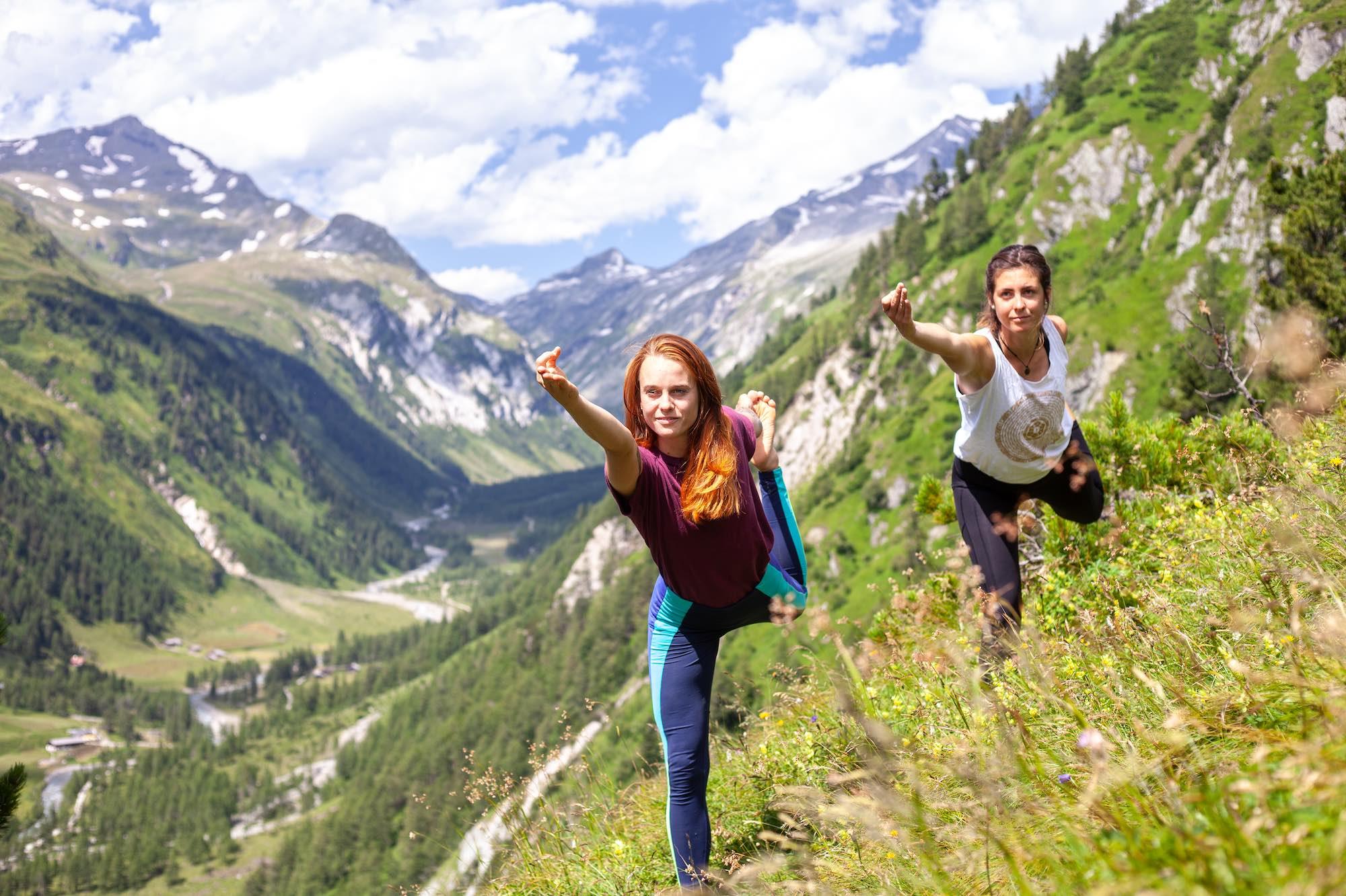 Yoga holiday in Tyrol