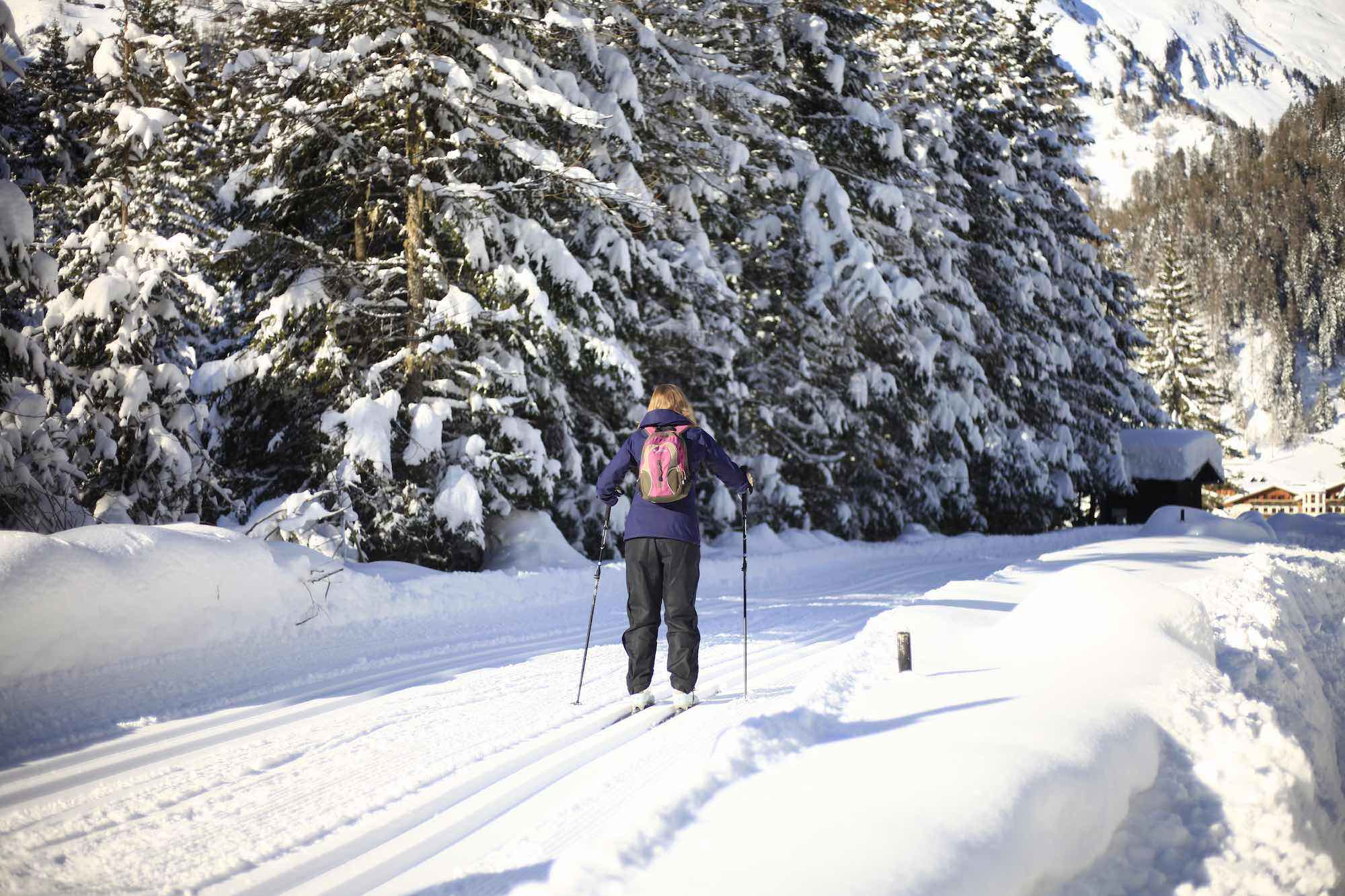 Cross country skiing in East Tyrol
