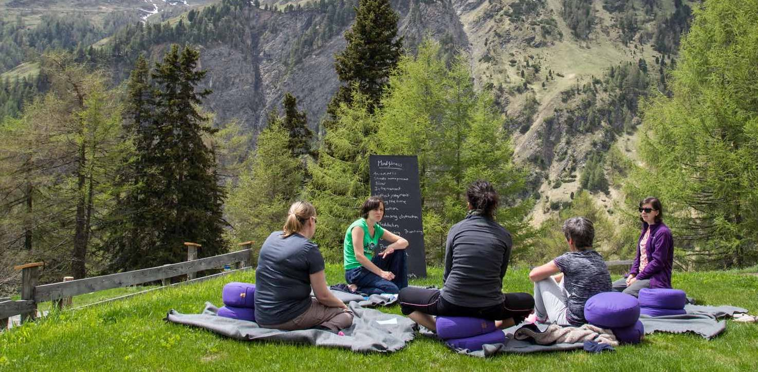Mindfulness in Nature holiday