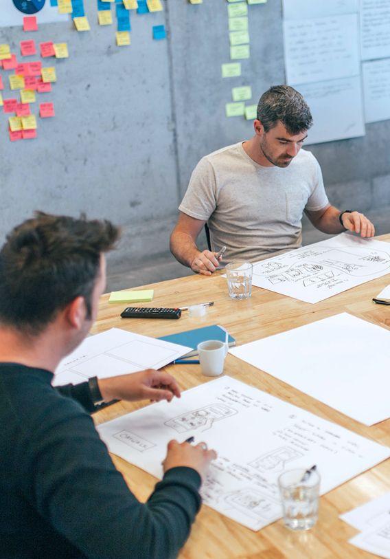 A strategy workshop