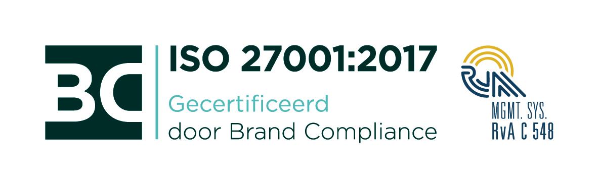 Logo ISO 27001:2017
