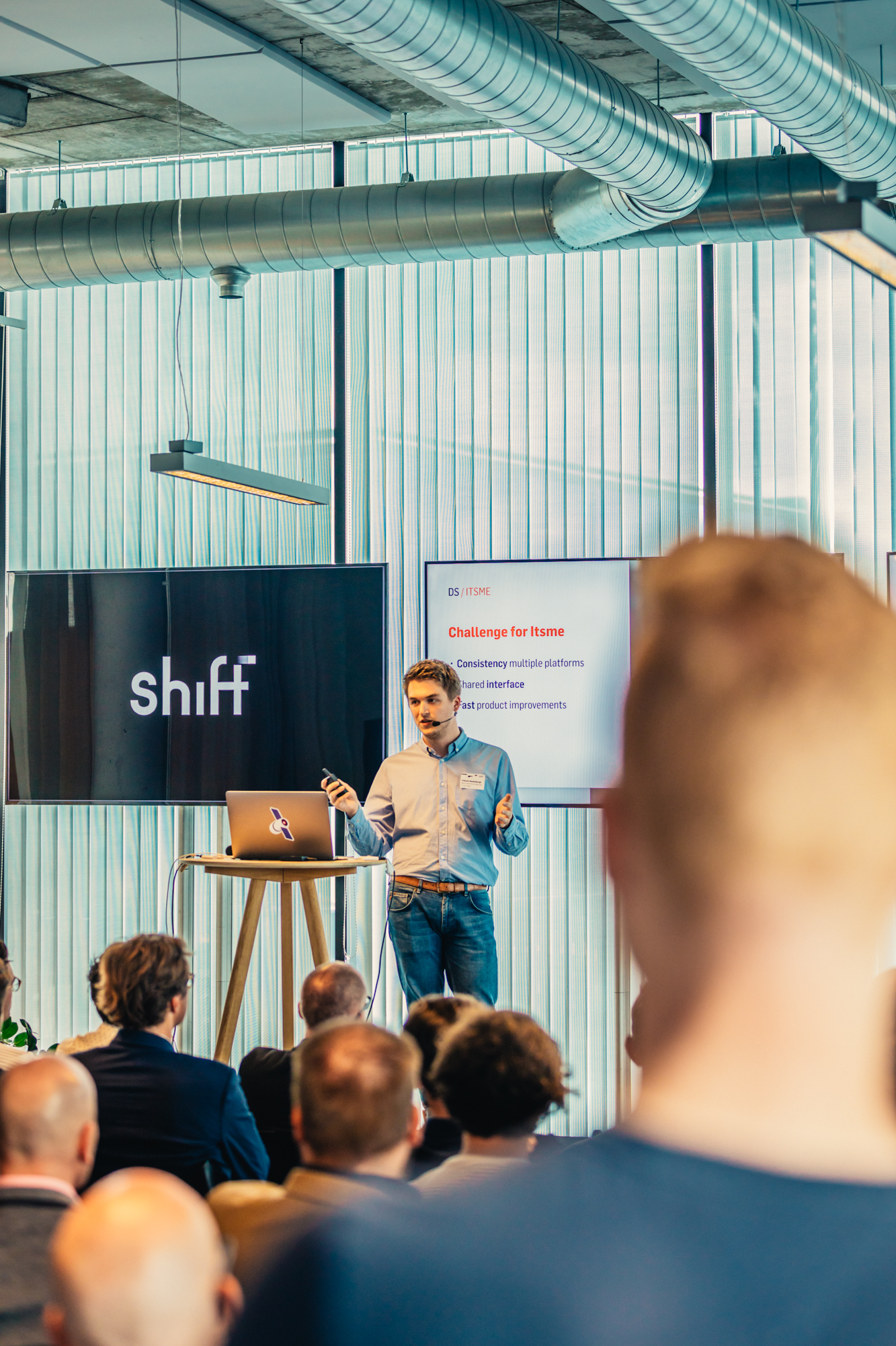 Speaker at our Shift event