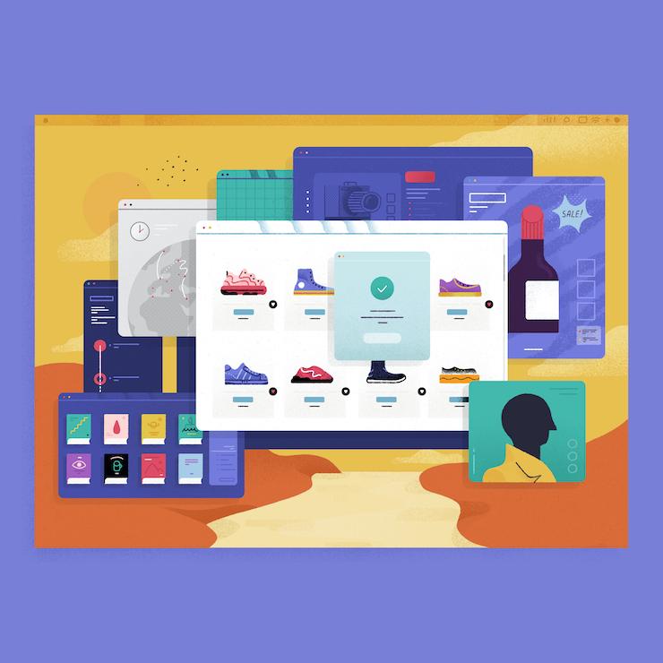 Ecommerce, the world's digital shop window