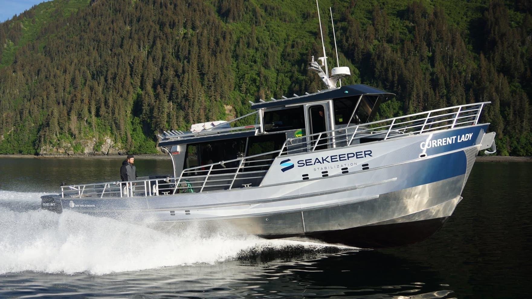 current lady charter fishing boat homer alaska deepstrike sportfishing bay weld boats seakeeper stabilization