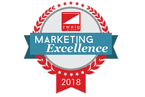 2018 Zweig Group's Marketing Excellence Award, Website