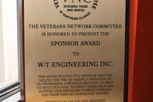 2017 Veterans Network Committee Sponsor Award