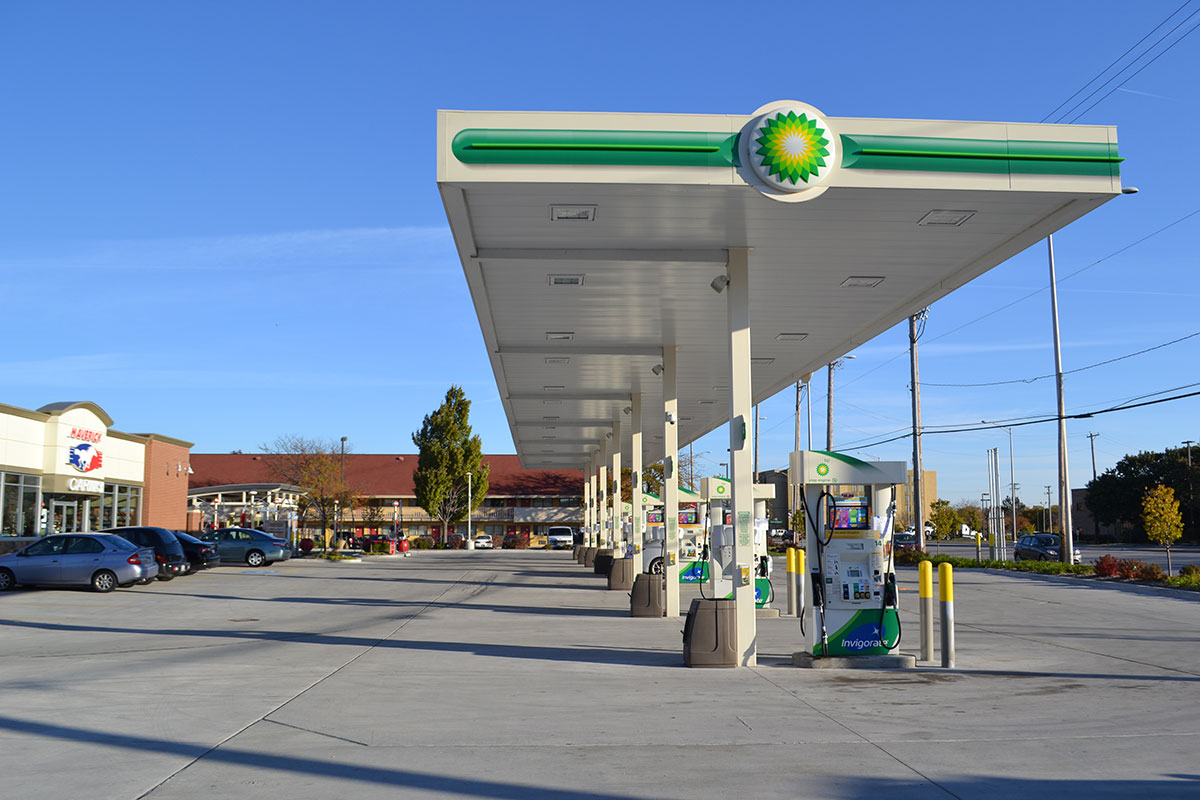 BP Gas Station | WT Group