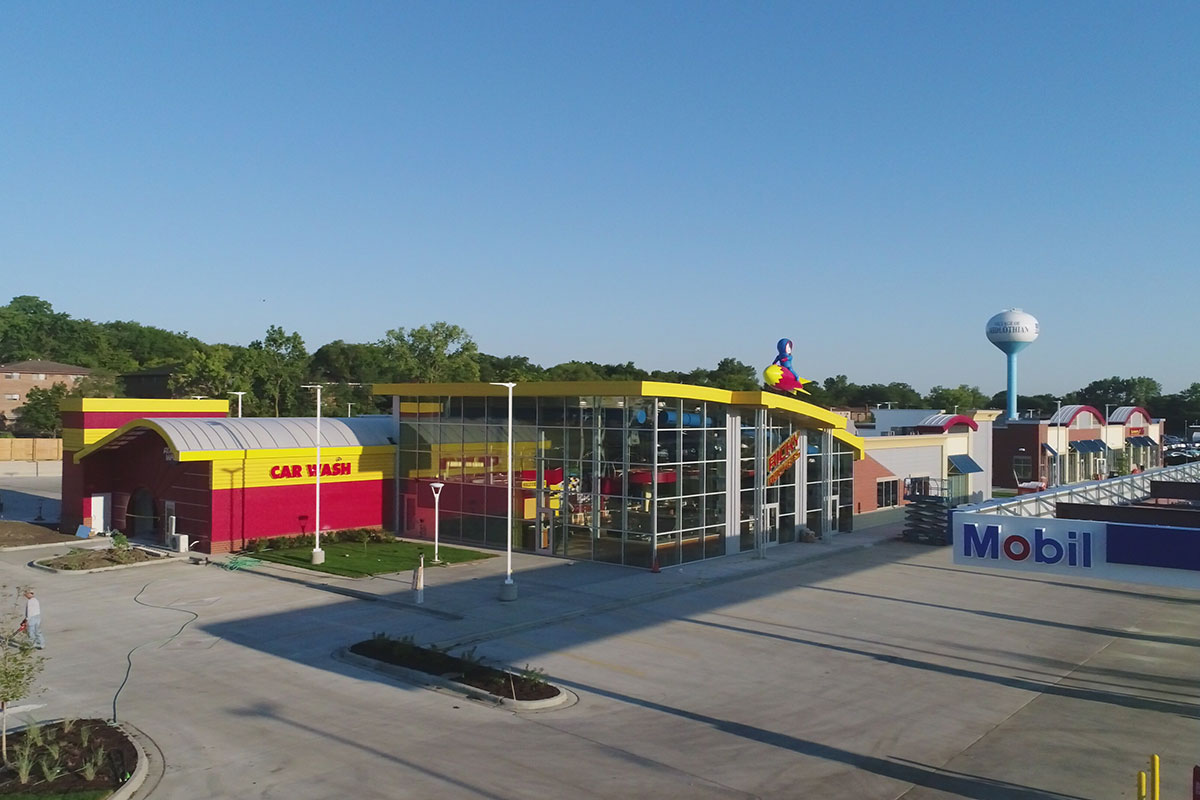 Ricky Rocket Fuel Center – Retail Petroleum Facility with Carwash and Retail