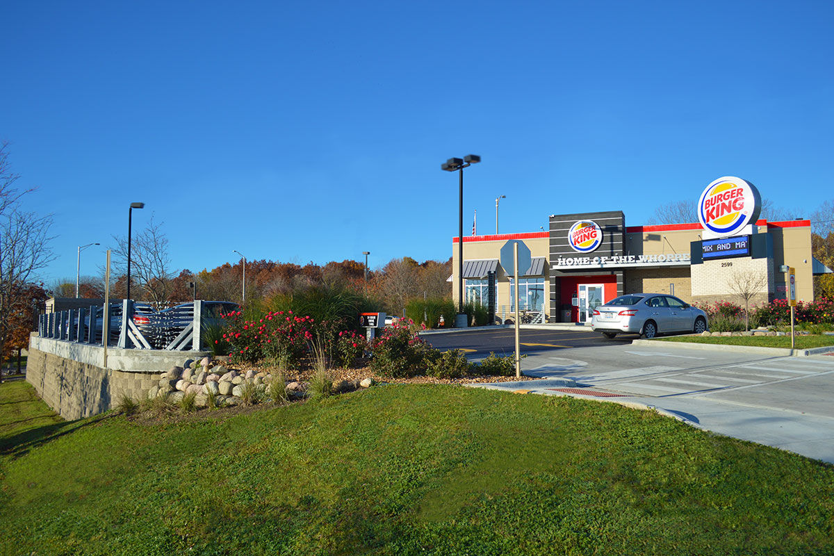 Burger King at 72 and Barrington