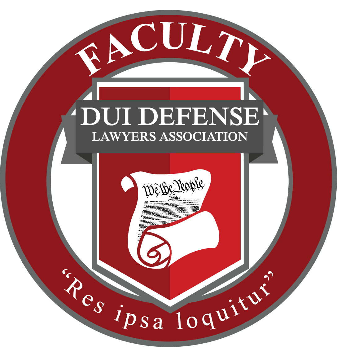 Faculty DUI Defense