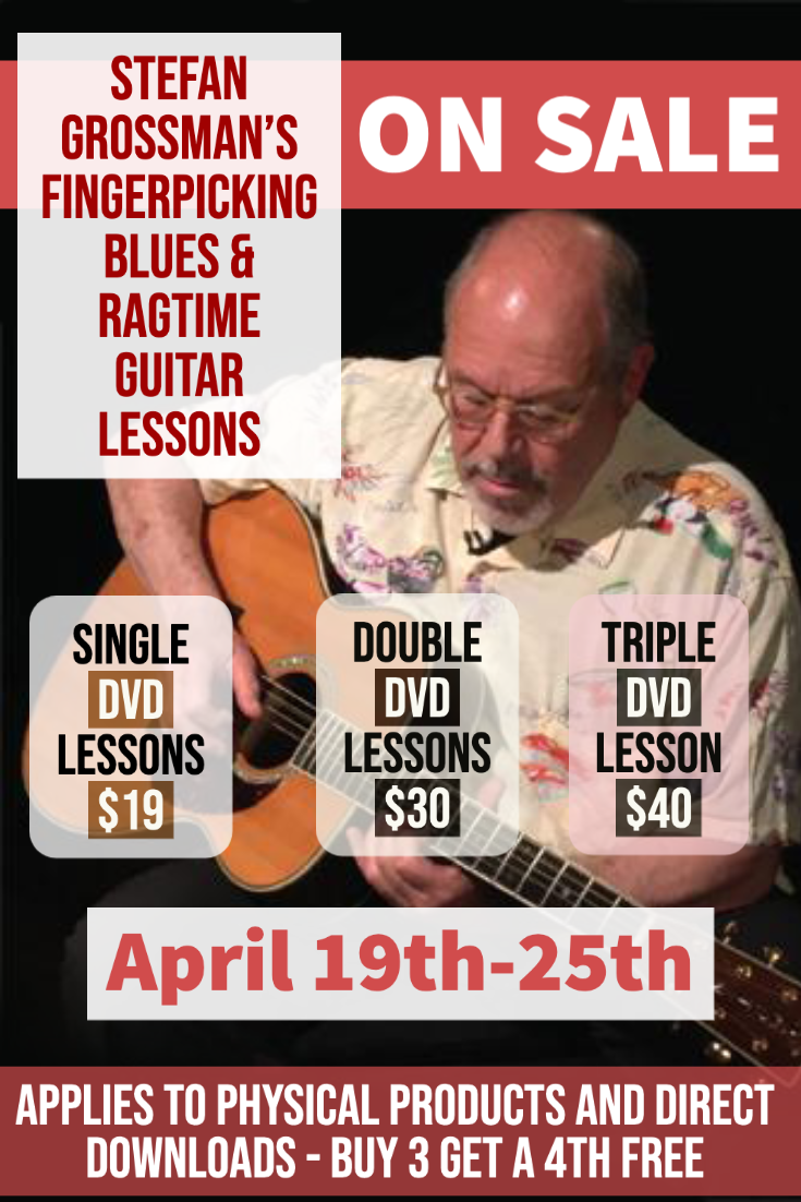 Fingerpicking Blues & Ragtime Guitar Lessons