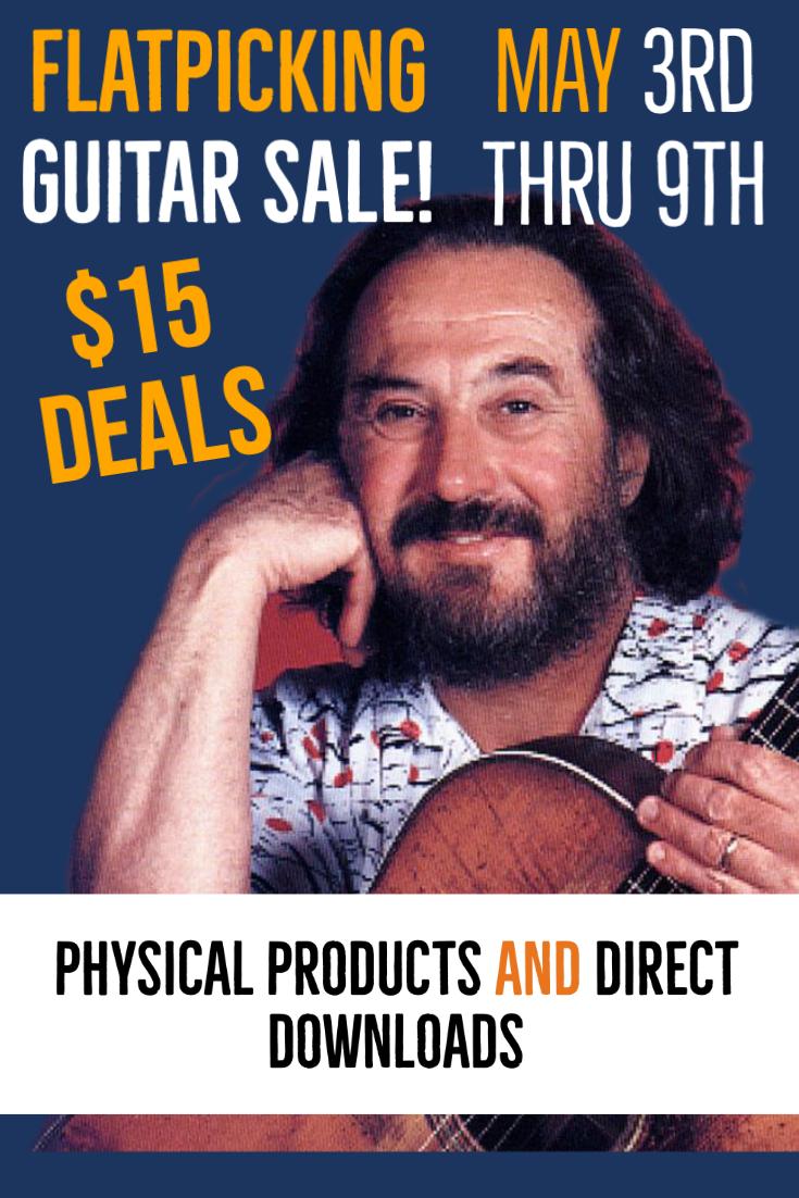 Flatpicking Guitar Special Sale