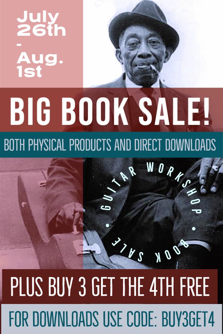 Guitar Workshop Book Sale