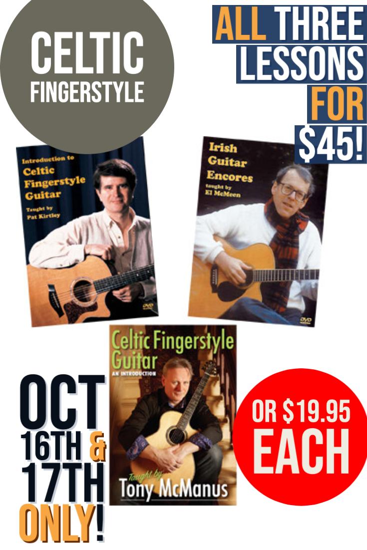 Celtic Fingerstyle Lesson Sale