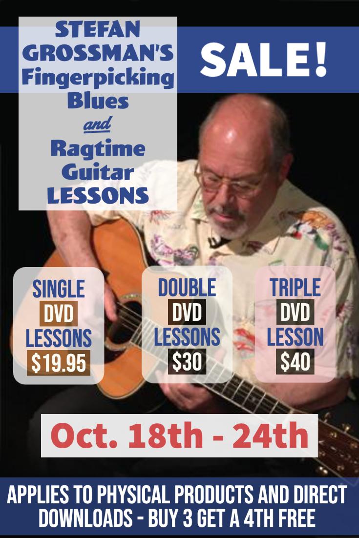 Fingerpicking Blues & Ragtime Guitar