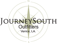 Logo of navigation star for Journey South Outfitters