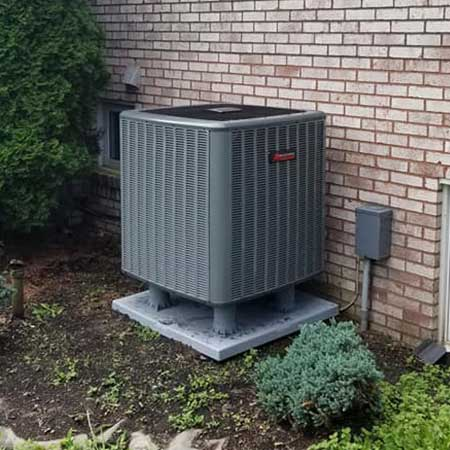 Air Conditioner installation by John Wilcox Plumbing & Heating