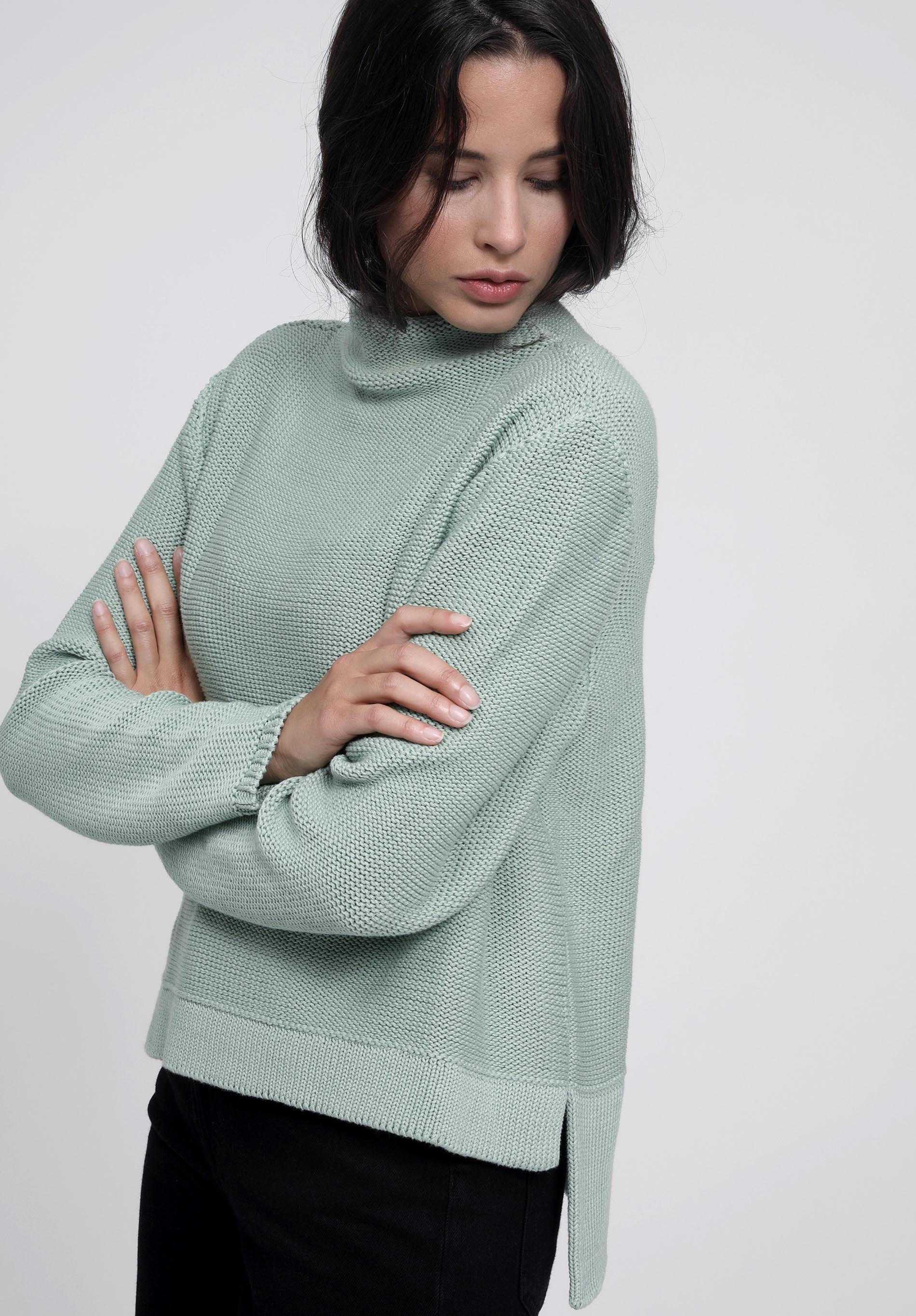 Pullover SABIK jade organic cotton