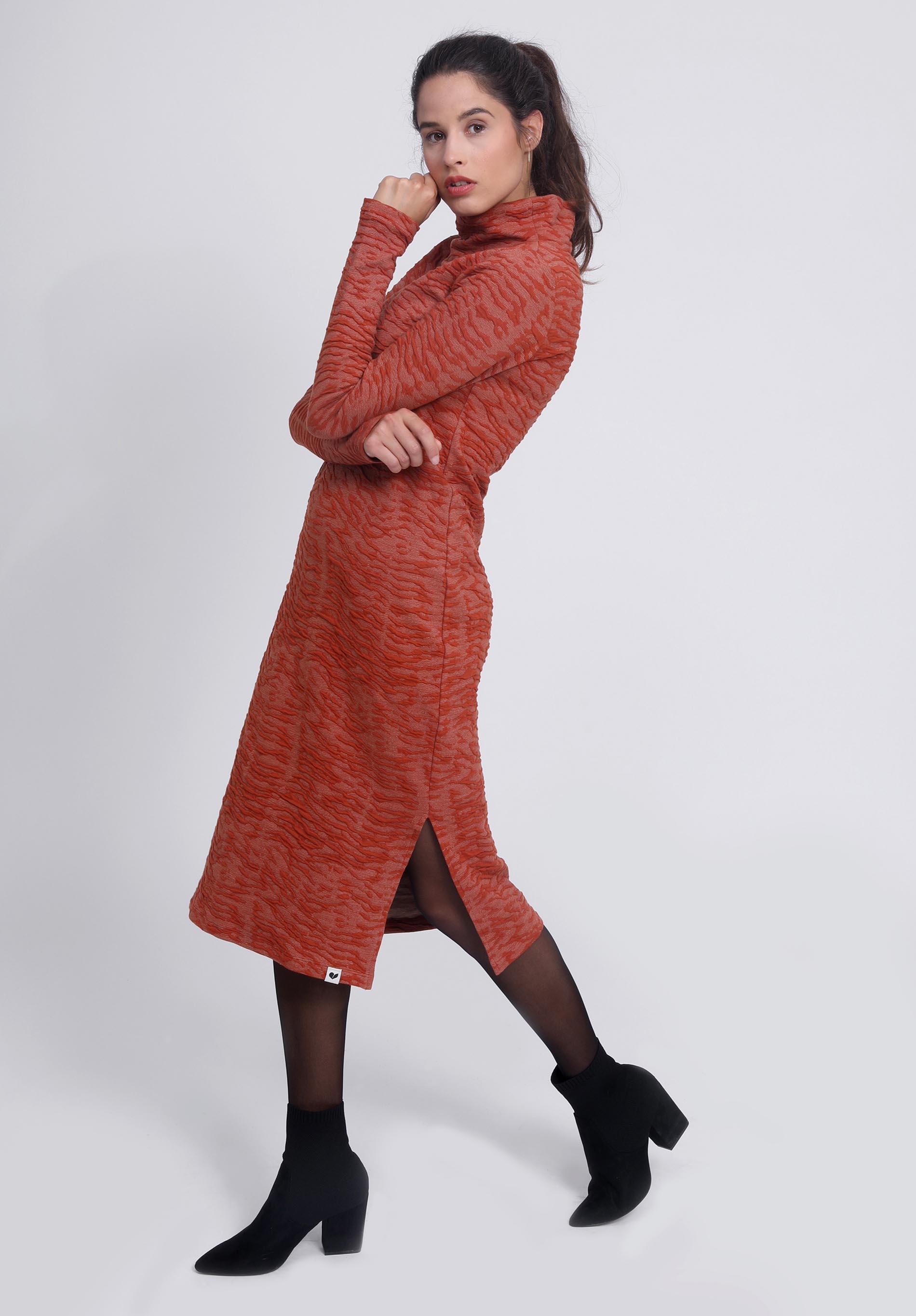 Dress SARIN chili organic cotton Relief