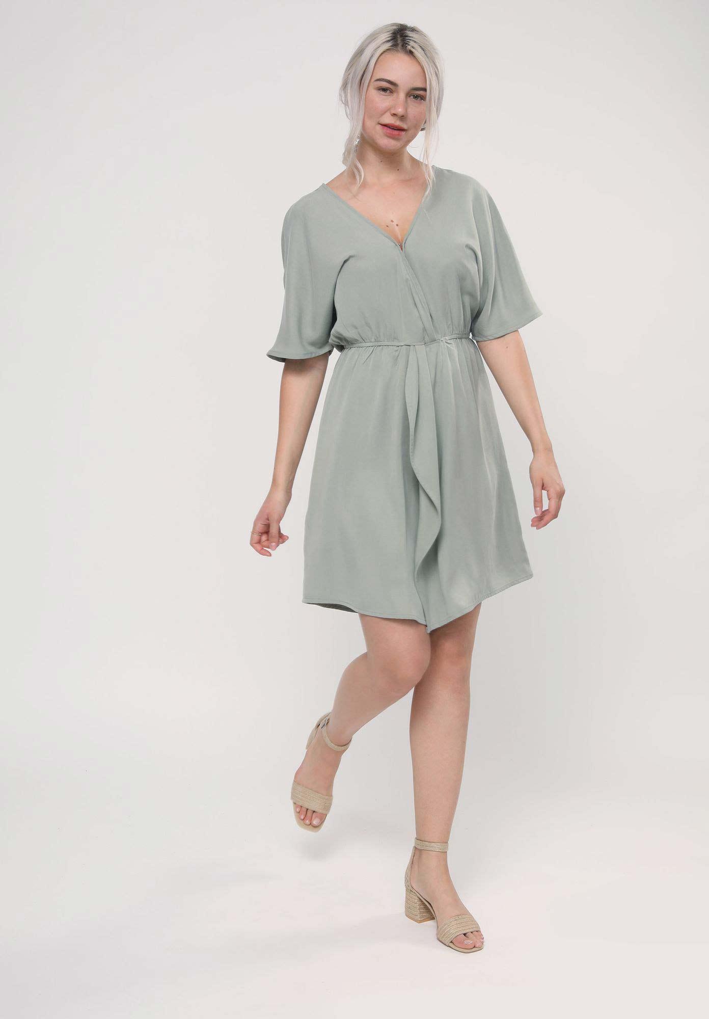 Pastell Sommerkleid von LOVJOI aus 100% Tencel