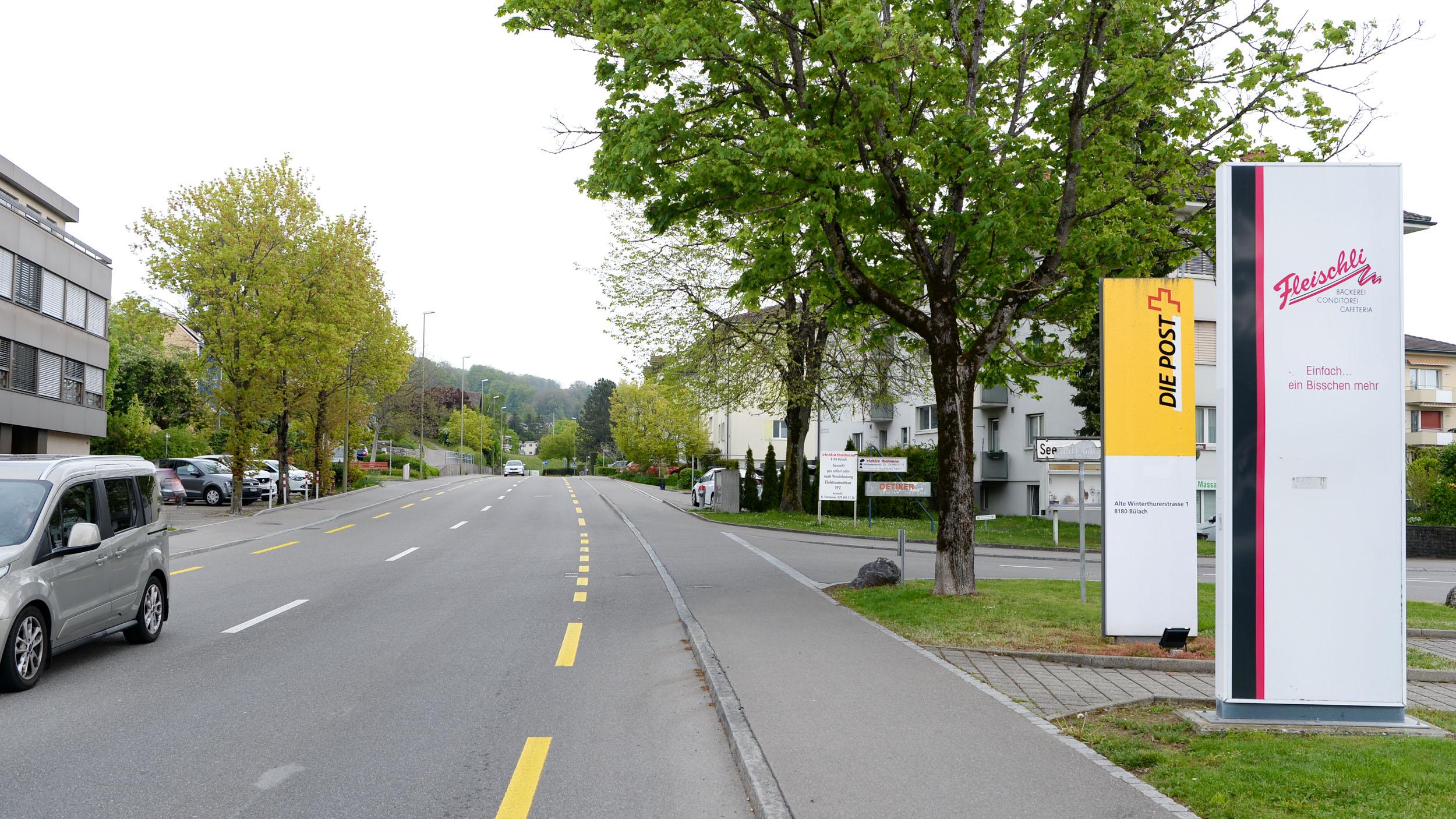 Anfahrt via Schaffhauserstrasse