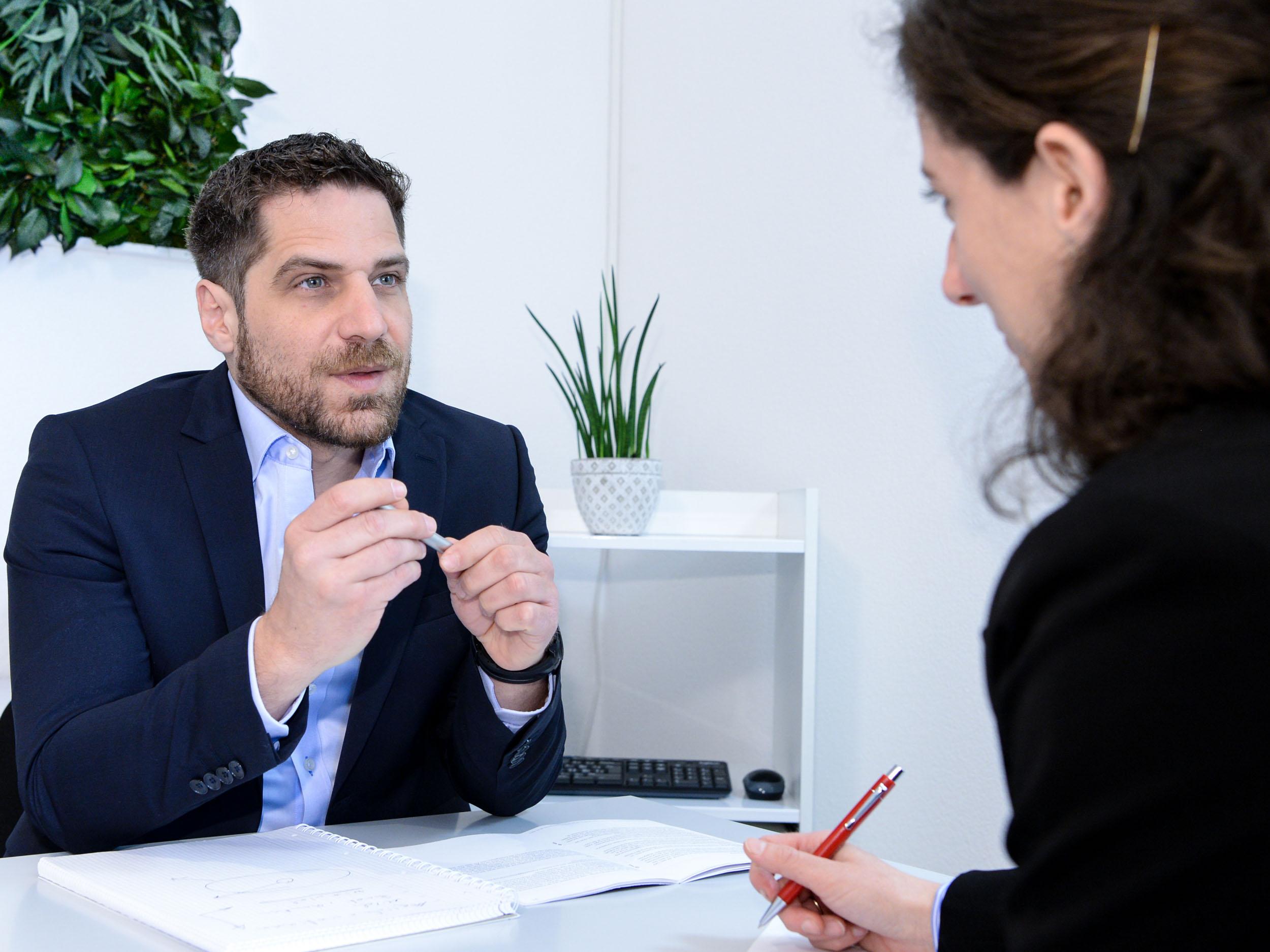 Beratung für Stellensuchende