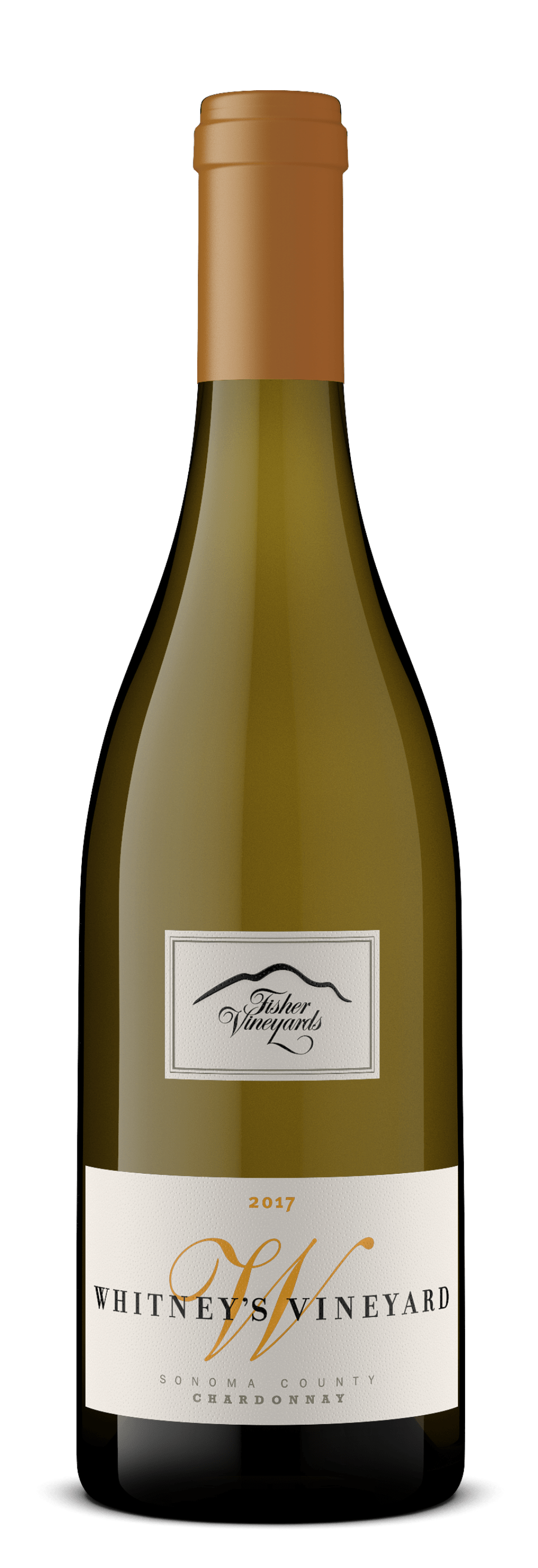 2017 Whitney's Vineyard Sonoma County Chardonnay bottle