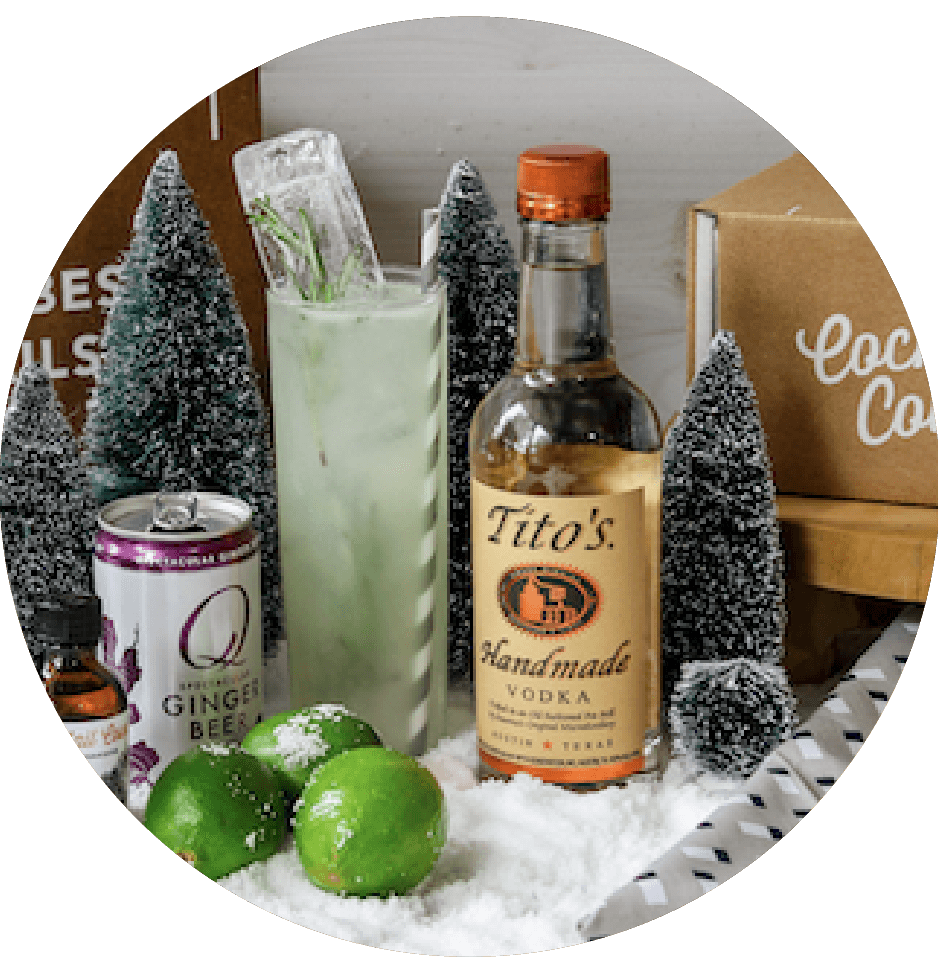 A Holiday Drink Kit