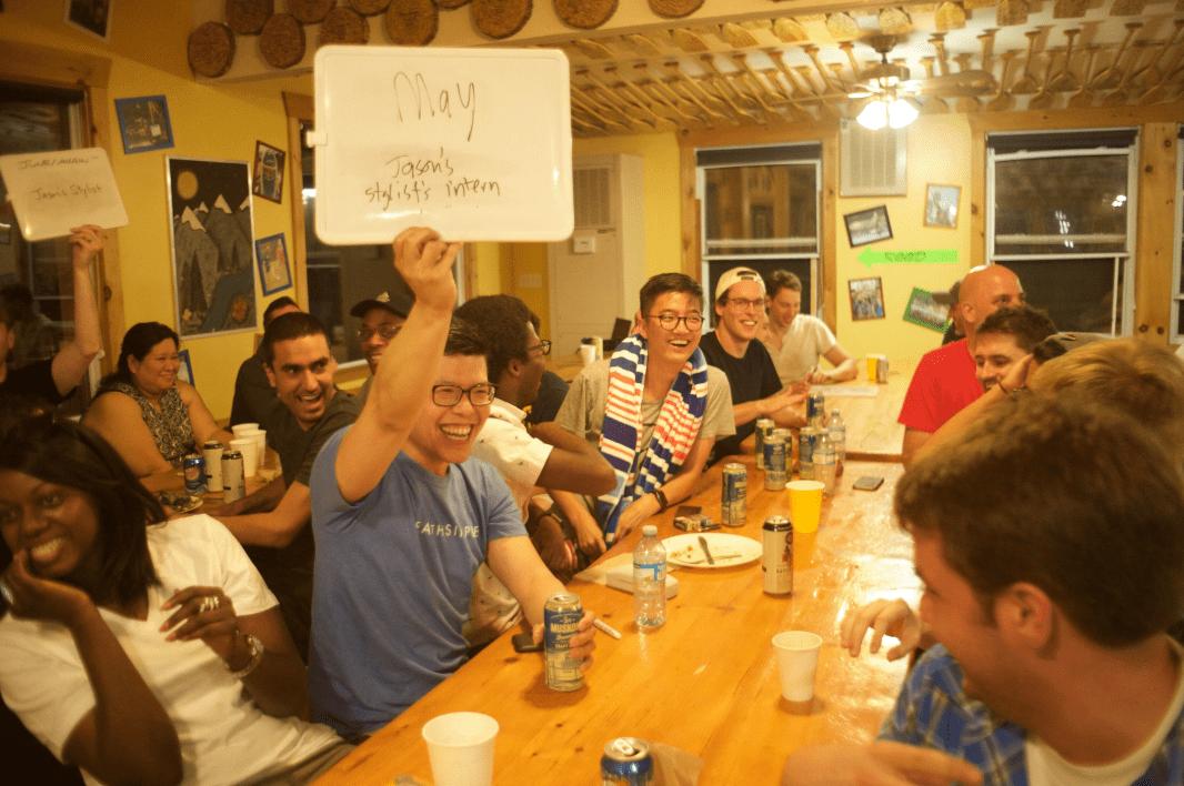 Team Building Activity at a Company Retreat