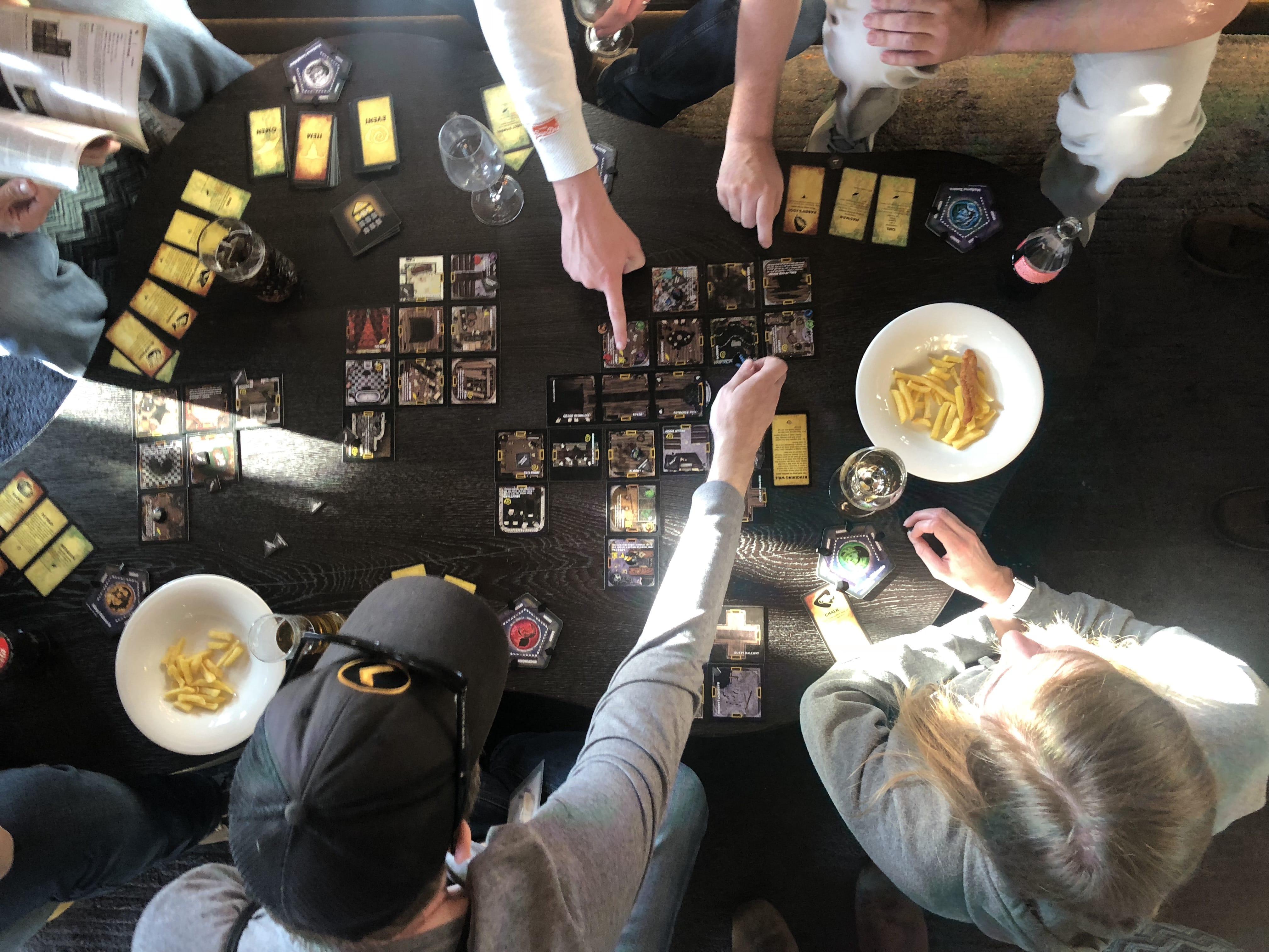 Board Games for a Company Retreat