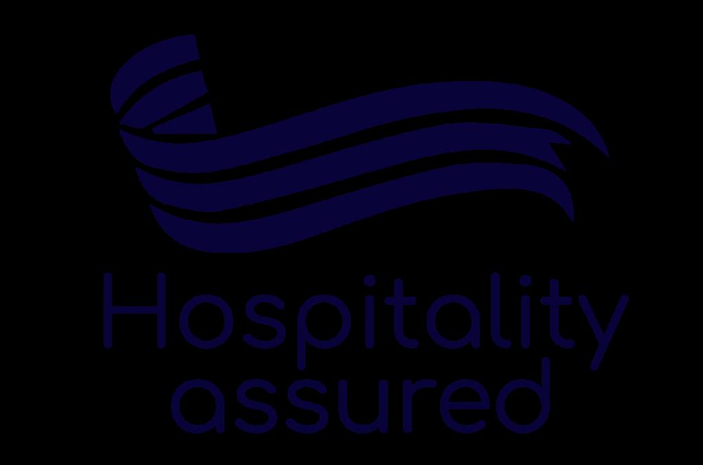 The logo for the Hospitality Assured program.
