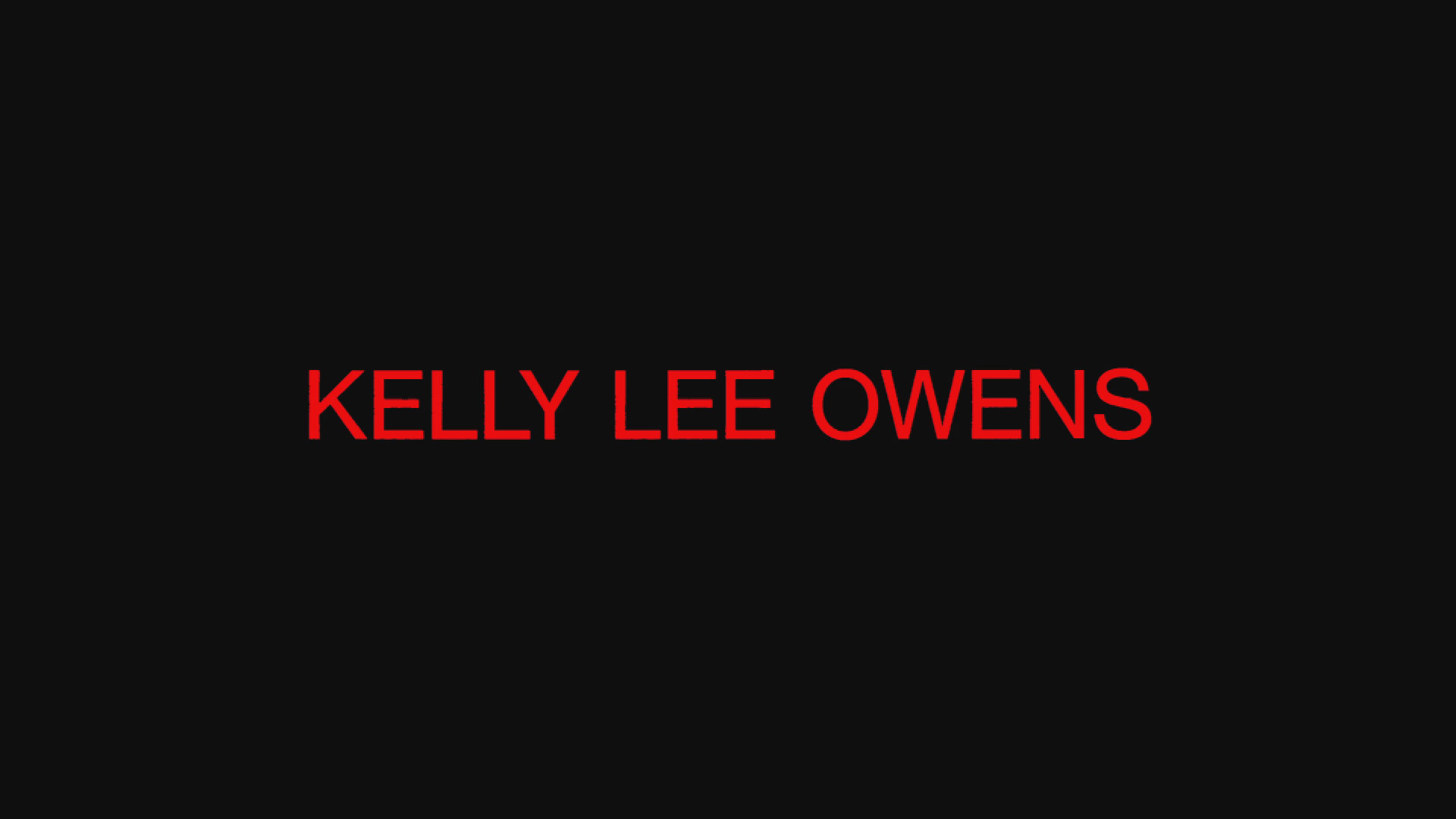 Kelly Lee Owens – Corner Of My Sky ft. John Cale