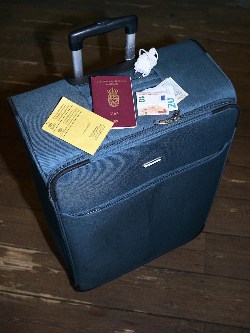 Pak blot din taske med alt det du har brug for. Du behøves ikke være bekymret, når du har Undo med på rejsen.