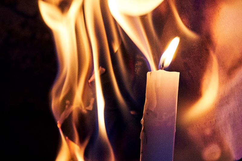 Med en brandforsikring af dine ting dækket, hvis der går ild i dine ting.