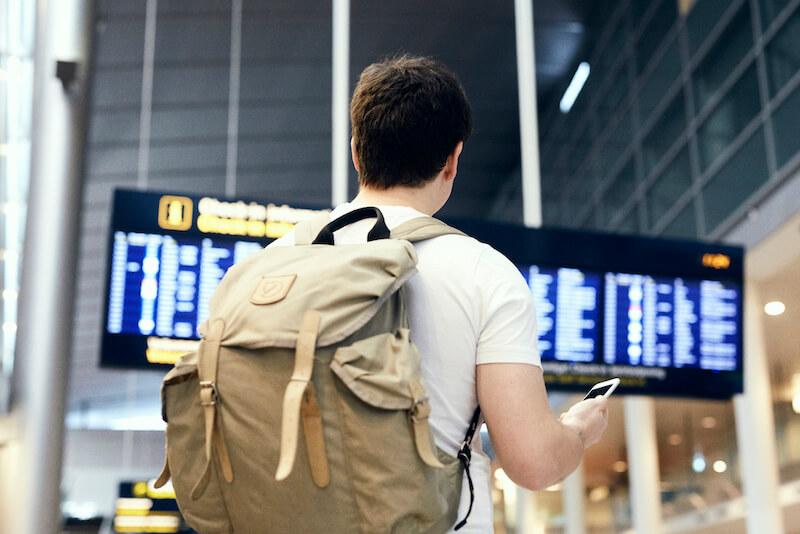 Appen spørg selv om du vil aktivere din rejseforsikring, når du står i lufthavnen. Så kan du tage af sted på en god og sikker tur.
