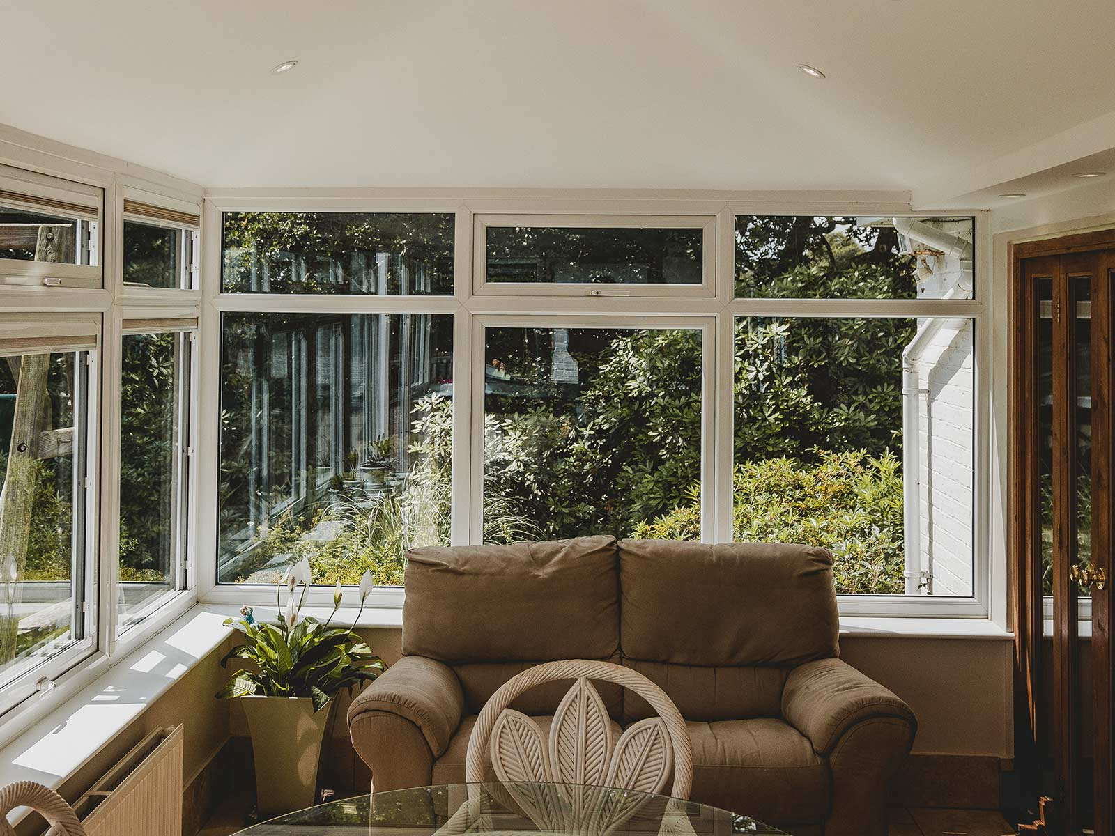 Interior shot of a conservatory