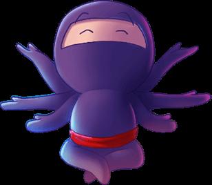devops ninja animation