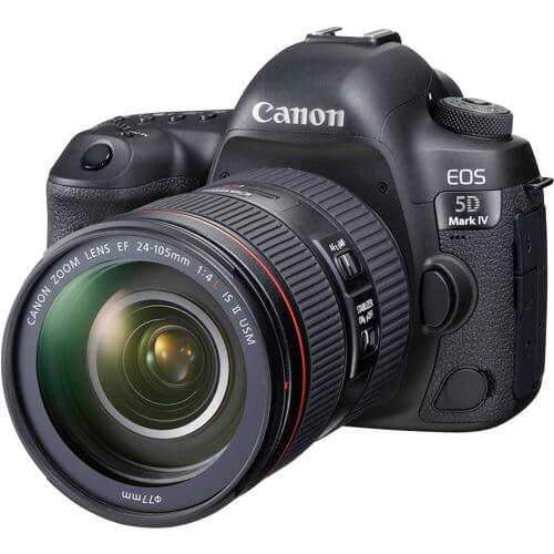 Canon  EOS 5D Mark IV with EF 24-105mm F4L IS II USM Lens -