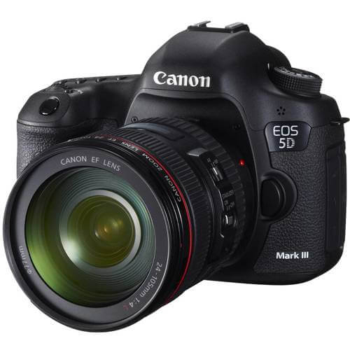 Canon EOS 5D Mark III avec Objectif 24-105mm L IS USM AF - Noir