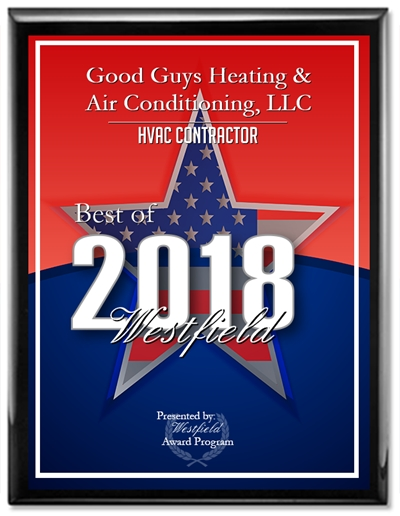 Good Guys Heating & Air Conditioning were awarded with the HVAC Contractor award for best of 2018